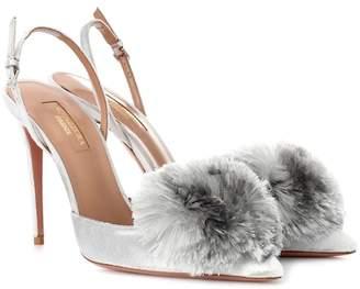 2ea23e1f88fc Aquazzura Powder Puff Shoes - ShopStyle