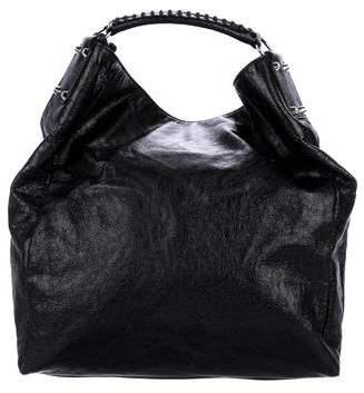 Balenciaga Textured Leather Hobo