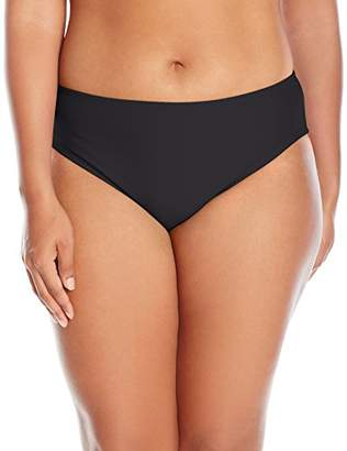 adidas Women's Plus Size Solid Hipster Bikini Bottom