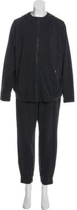 Brunello Cucinelli Hooded High-Rise Track Suit