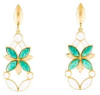 Stephanie Kantis Amazonite Kaleidoscope Drop Earrings