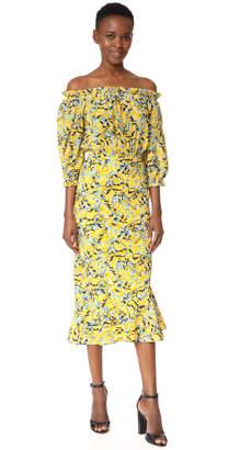 Saloni Grace Dress $625 thestylecure.com