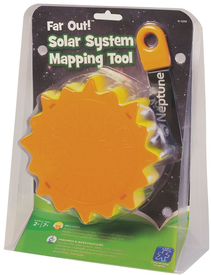 Educational Insights Far Out Solar System Mapping Tool