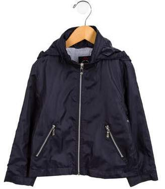 Brooks Brothers Boys' Hooded Casual Jacket