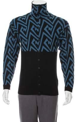 Loewe Patterned Knit Cardigan