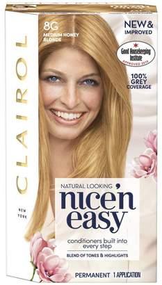 Clairol Nice'n Easy Nice'n Easy Permanent Hair Dye 8G Medium Honey Blonde