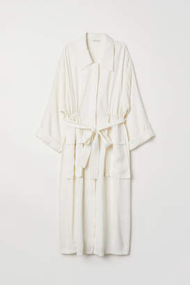 H&M Oversized Coat - White