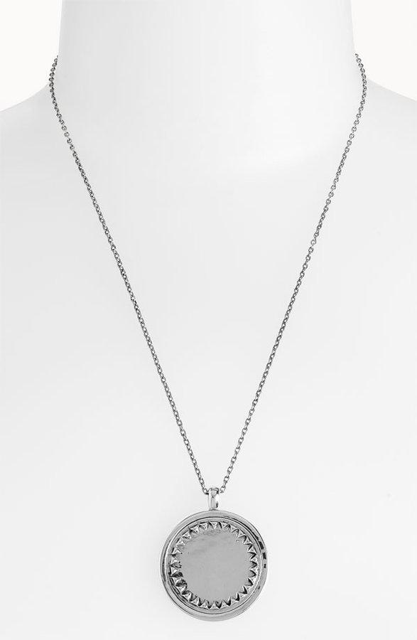 House of Harlow 1960 Metal Sunburst Pendant Necklace
