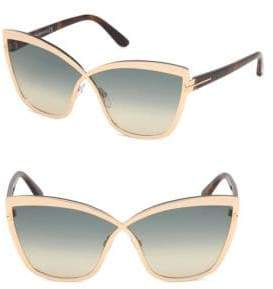Tom Ford Sandrine 68MM Infinity Sunglasses