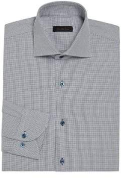 COLLECTION Basket Design Regular-Fit Dress Shirt