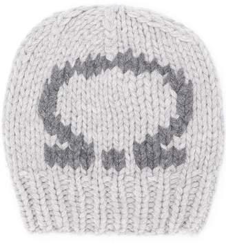 Salvatore Ferragamo Gancio knitted beanie
