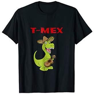 T-Mex Funny Tyrannosaurus Rex T-Rex Mexican Dinosaur T Shirt