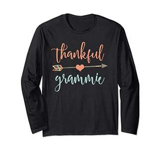 Cute Arrow Thankful Grammie Long Sleeve Shirt Announcement
