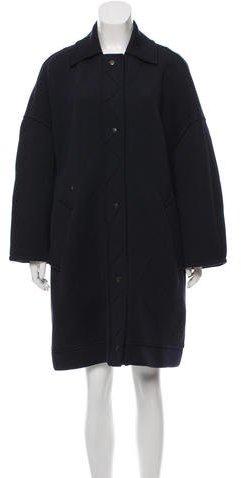 Balenciaga Balenciaga Wool Oversize Coat