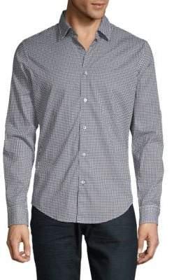 HUGO BOSS Ronnie F Geometric Print Shirt