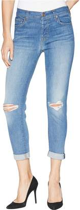 7 For All Mankind Josefina w/ Busted Knees in Heritage Artwalk 2 Women's Jeans