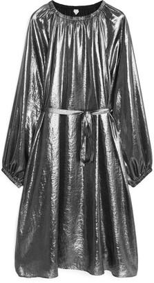 Arket Metallic Dress
