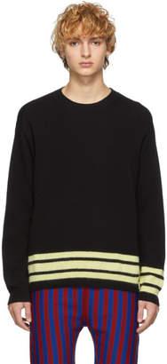 Marni Black and Yellow Striped Sweater