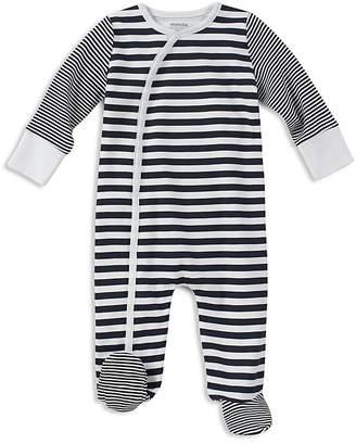 Absorba Boys' Contrast Striped Footie - Baby