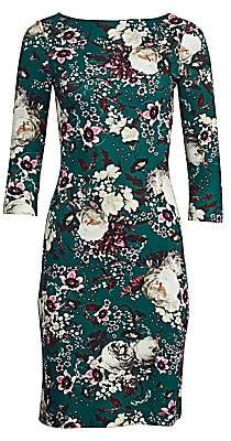 Erdem Women's Reese Floral Sheath Dress