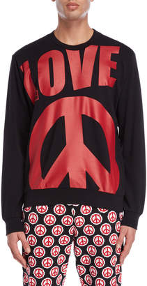 Love Moschino Oversized Logo Sweatshirt
