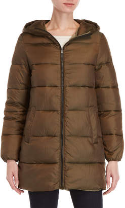 Andrew Marc Betty Hooded Puffer Coat