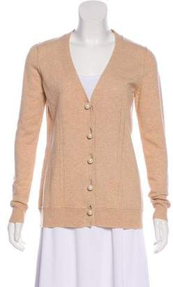 Milly Cashmere & Wool-Blend Cardigan