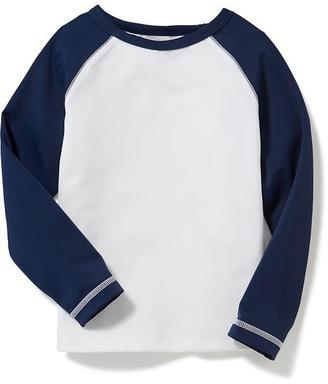 Color-Blocked Rashguard for Toddler Boys $14.94 thestylecure.com