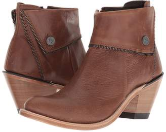 Old West Boots Zippered Ankle Boot Cowboy Boots