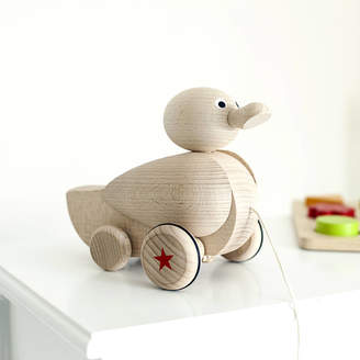 Jonny's Sister Personalised Wooden Quacking Duck
