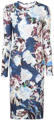Prabal Gurung floral long-sleeve dress