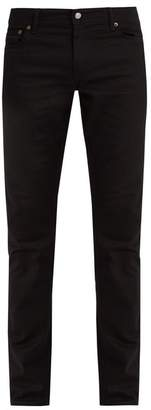 Acne Studios Bla Konst North Mid Rise Slim Leg Jeans - Mens - Black