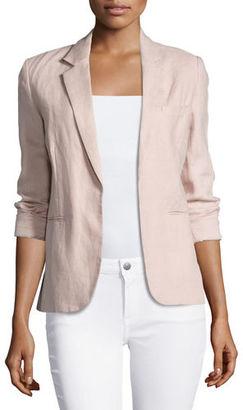Joie Mehira Chambray Blazer $298 thestylecure.com