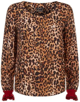 SET Leopard Print Blouse