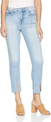 Hudson Jeans Women's Zoeey HIGH Rise Straight Crop 5 Pocket Jean