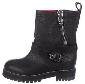 MCM Leather Ankle Boots