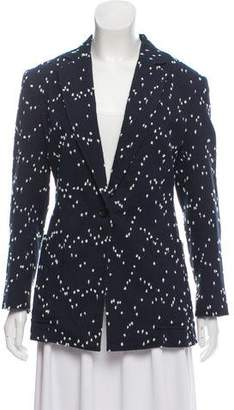3.1 Phillip Lim Patterned Notched-Lapel Blazer