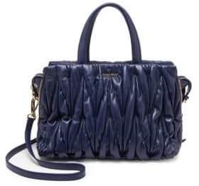 Miu Miu Leather Top Handle Bag