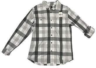 Lee Men's Long Sleeve Plaid Button Down Shirts