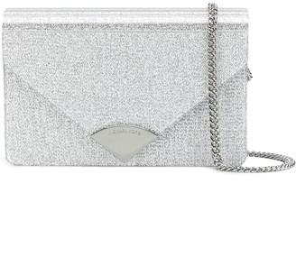 MICHAEL Michael Kors Barbara metallic clutch