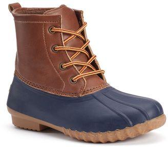Unionbay Wonder Women's Water Resistant Duck Boots $69.99 thestylecure.com