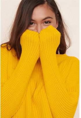Garage Knitted Crew Neck Sweater