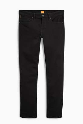 Next Mens BOSS Black Slim Fit Orange 63 Jean