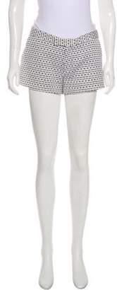 Joseph Patterned Mini Shorts