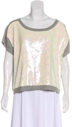 Gryphon Sequin Knit Top