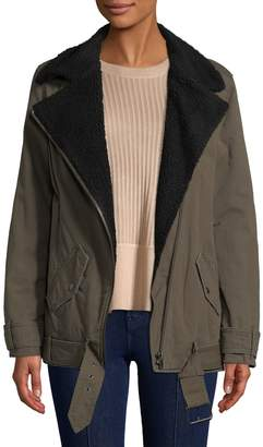 The Kooples Women's Perfecto Faux Fur-Accented Parka