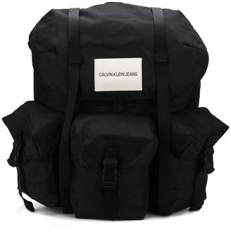 Calvin Klein Jeans logo backpack