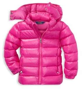 Ralph Lauren Little Girl's& Girl's Active Down Jacket