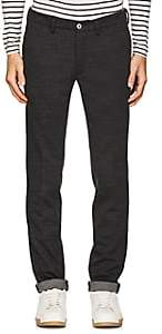 Barneys New York MEN'S MÉLANGE WOOL-BLEND STRAIGHT TROUSERS