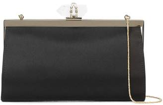 Marchesa embellished clasp clutch